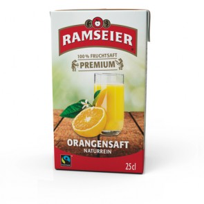 Ramseier Orangensaft, 250ml