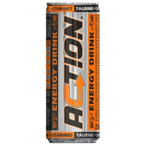 Action Energy Drink 25 cl Dose