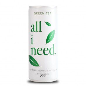 All i need Green Tea, 250ml Dose