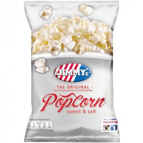 Jimmy's Popcorn Sweet&Salt, 18g