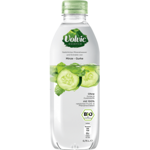 Volvic Essence Minze-Gurke BIO, 75cl PET