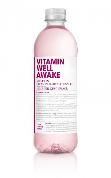 VitaminWell Awake, 50cl PET