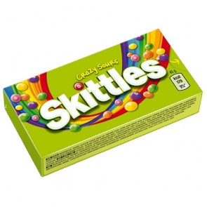 Skittles Crazy Sours 45 g