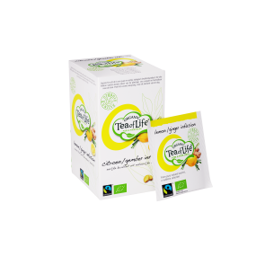 Tea of Life citron gingembre, BIO