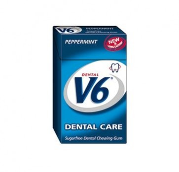 V6 Dental Care Peppermint, 24 g