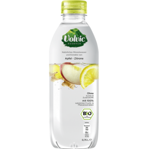 Volvic Essence Apfel-Zitrone BIO, 75cl PET